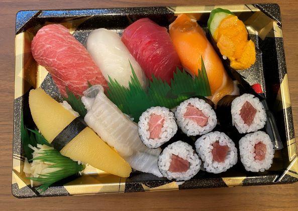 上寿司テイクアウト