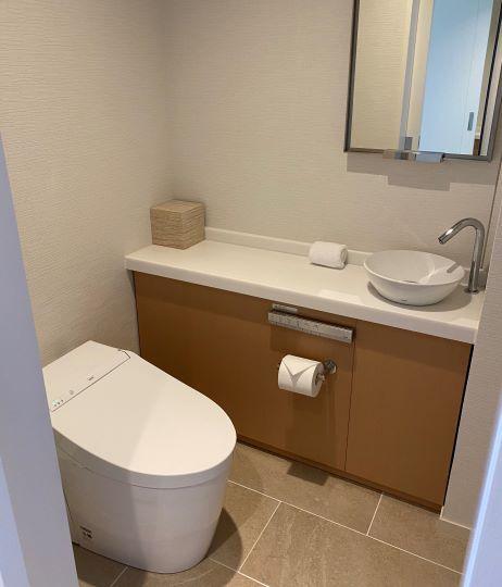 デラックスオーシャンビュー(ビーチフロントウィング)のトイレ