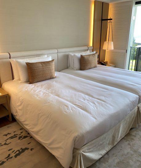 デラックスオーシャンビュー(ビーチフロントウィング)のベッド