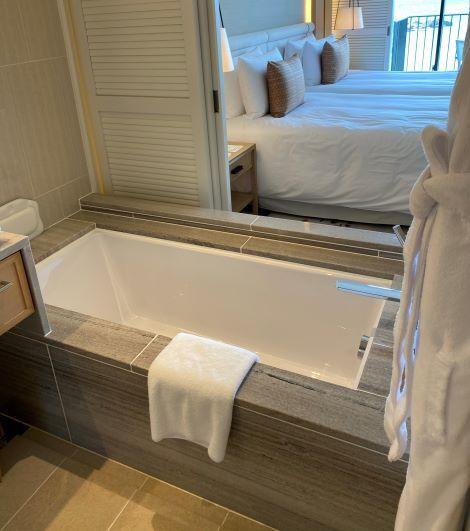 デラックスオーシャンビュー(ビーチフロントウィング)のお風呂