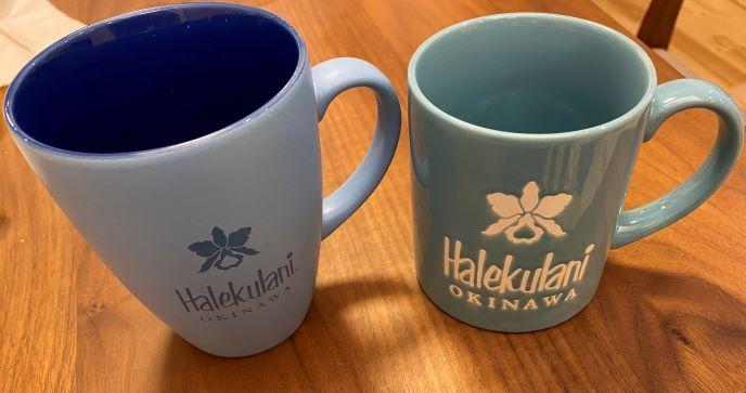 ハレクラニ沖縄のマグカップ