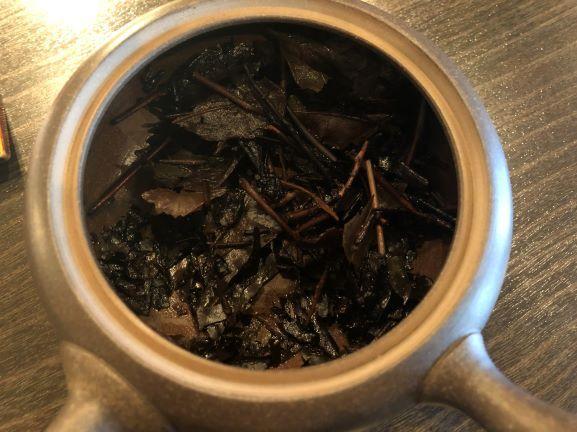 日干晩茶茶葉